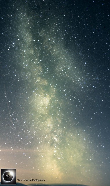 Milky Way from Builth Wells 11:30pm BST 10/08/18