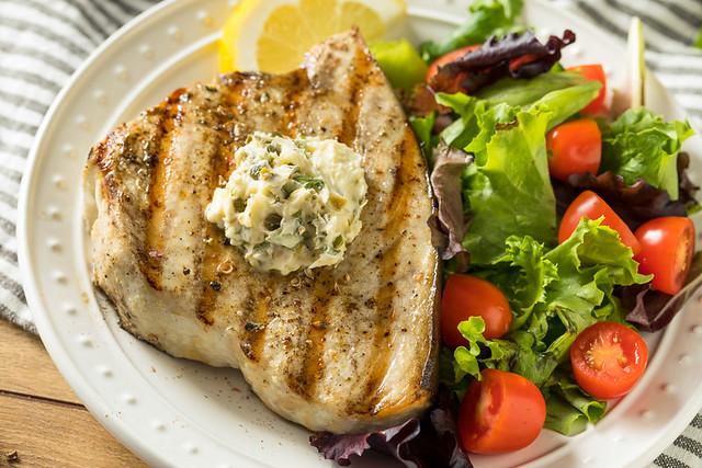 Organic Grilled Swordfish Steak