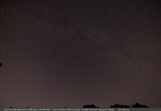 Short bright Perseid (or sporadic) | by TimHaymes