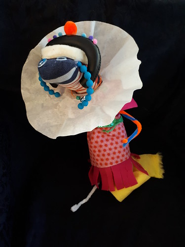 Daisy - winner in the Dr Seuss Creation competition