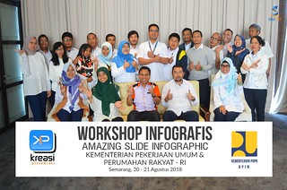 "Workshop Infografis ""Amazing Slide Infographic"" Kementerian PUPR 