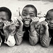 Malawi, funny kids by Dietmar Temps