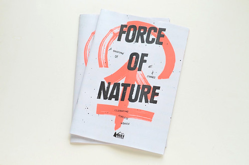 My Illustration in REI's Force of Nature Zine | by imaginary animal