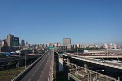 Durban city skyline, South Africa