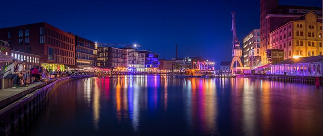 Münster Hafen, Blue Hour