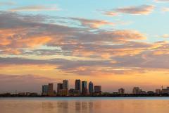 Tampa Sunrise Clouds