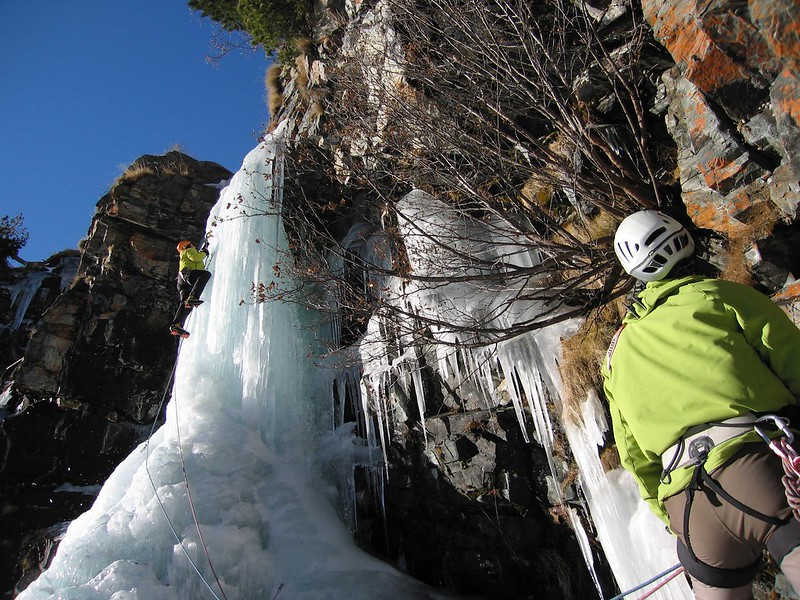 Climbing ice in the sun, like comedy, needs good timing