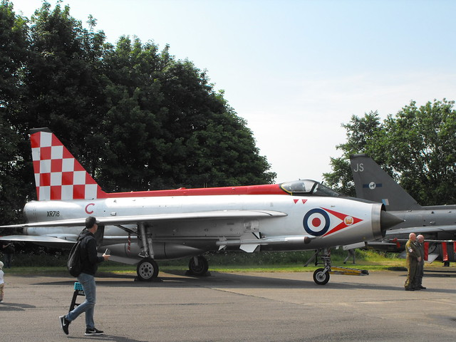 EE Lightning F.3 - XR 713 (8) @ Bruntingthorpe, May 2018