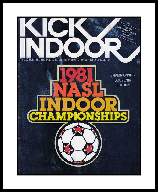 KICK Magazine, Indoor Championship, 2nd Leg, 1981