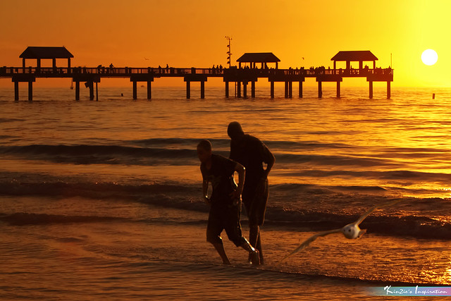 Sunset@Pier60, Clearwater Beach Florida *Nature's Portraits Inspiration*