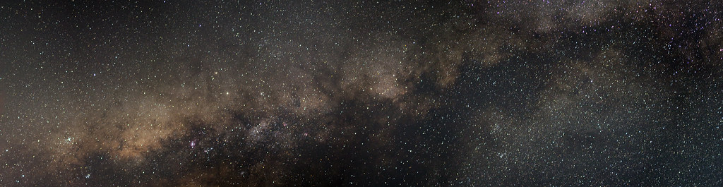 Milky Way Panorama Wallpaper Hd Galaxy Stars Milky W
