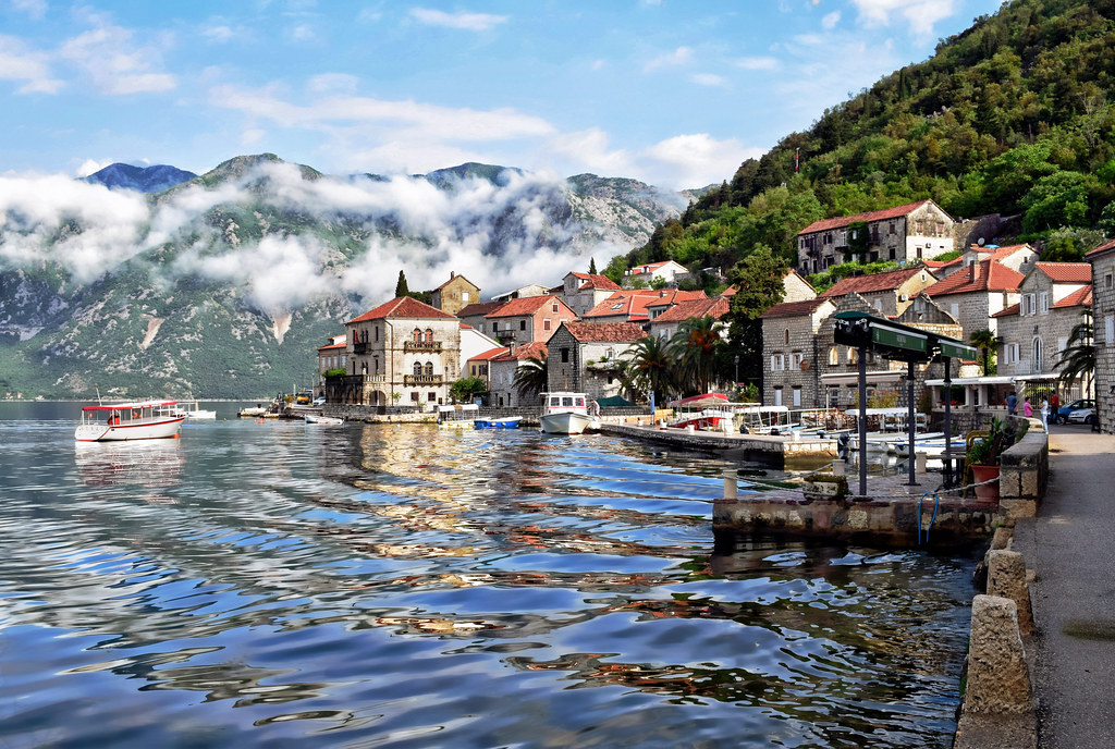Morning Clouds over Perast
