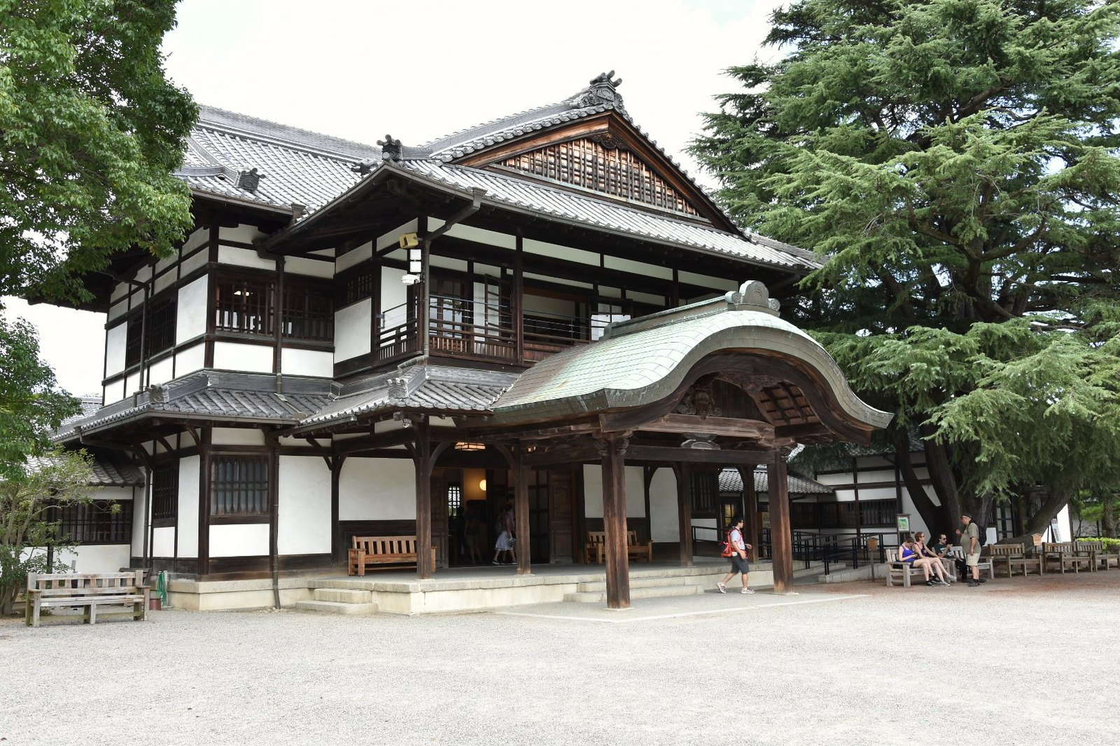 Takamatsu, Ritsurin-kôen - pavillon principal