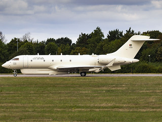 United Arab Emirates Air Force | Bombardier BD-700-1A10 Global 6000 | 1325 | by MTV Aviation Photography