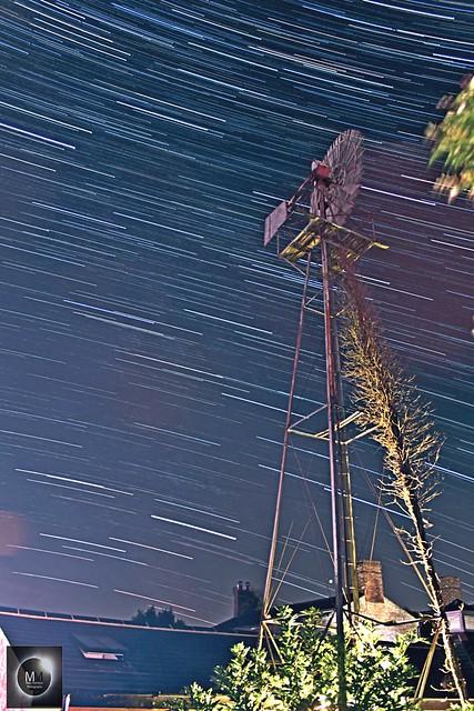 40 Minute Star Trails 04/08/18