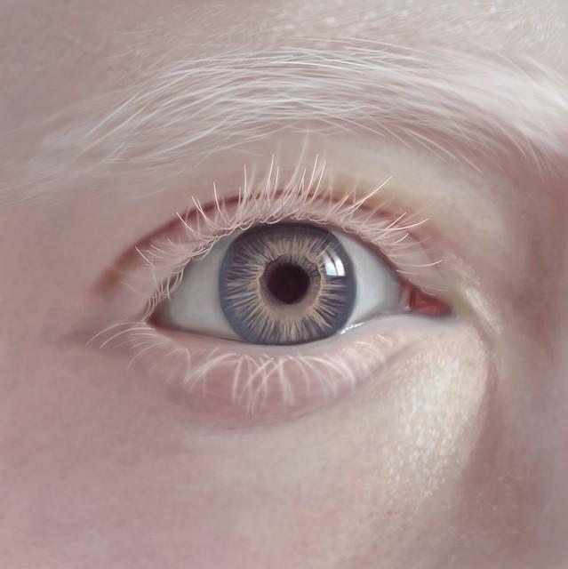 Ojo realista // Ilustración digital