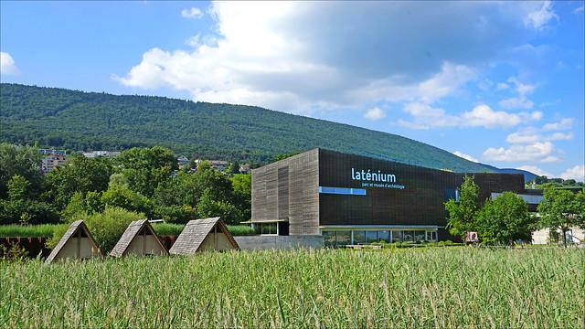 Le Laténium et son parc archéologique (Hauterive, Suisse)
