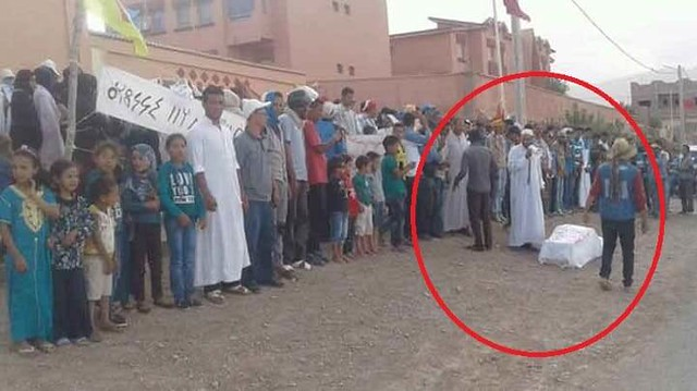 4621 Moroccan Imam died of heart attack after the dead man woke up during funeral 02