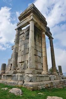 Roman Temple ruins in Machnga, Batroun district