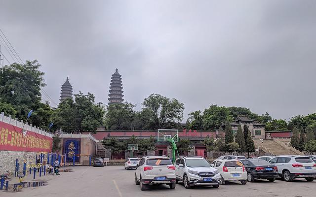 영조사 쌍탑 Twin Pagoda Temple