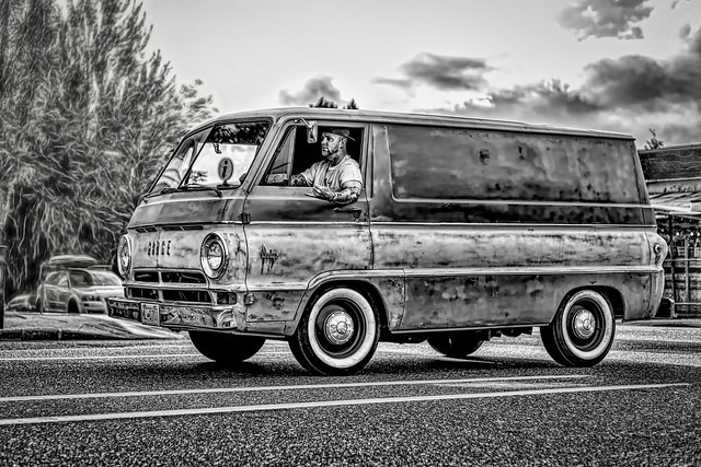 Old Dodge van 2