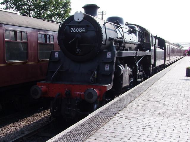 BR 4MT 2-6-0 - 76084 at Sheringham