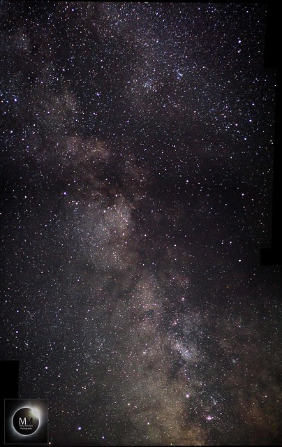 Southern Milky Way Mosaic 23:50BST 03/08/18
