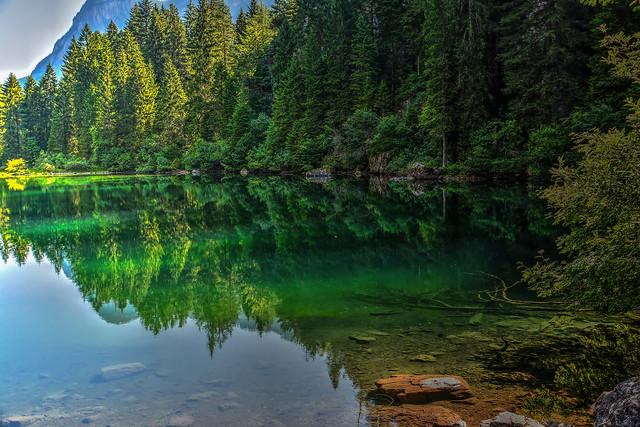 Il verde di Tovel
