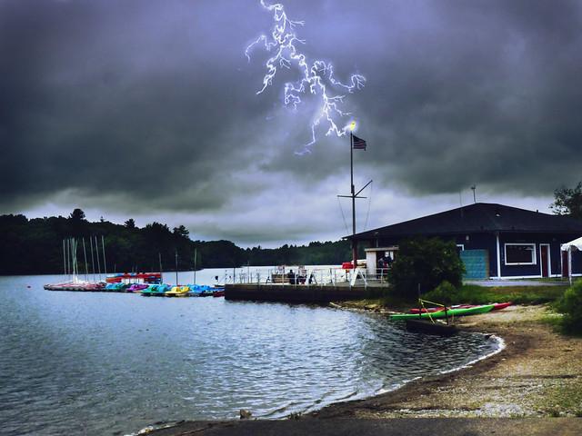 lightning at Hopkinton Park
