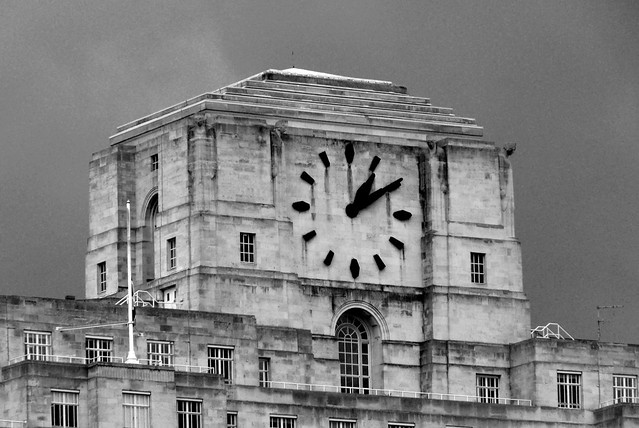 The Art Deco Clock of Shell Mex House