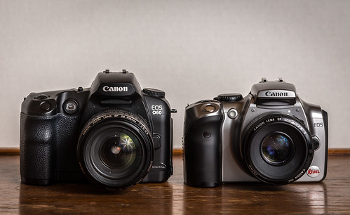 Duel // Canon EOS D60 (2002) / Canon EOS-300D Rebel (2003) | by maoby
