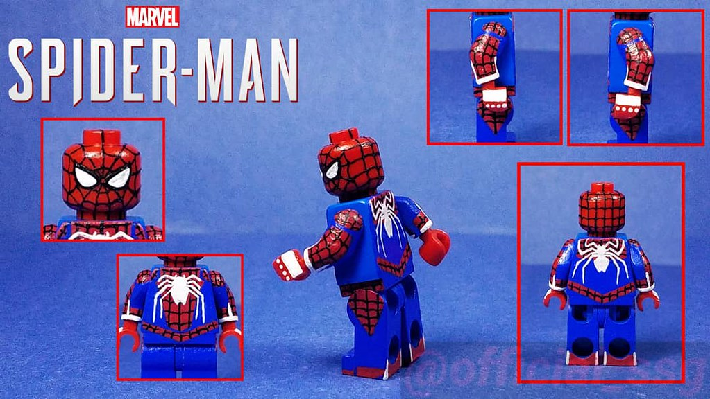 Custom Lego Spider-Man [PS4]: Advanced/Insomniac Suit All