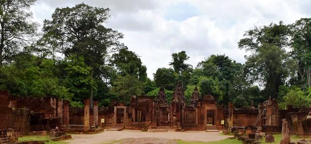 Angkor: Banteay Srei (Citadelle des femmes)