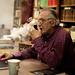Olavo em seu novo escritório - Foto: Mauro Ventura