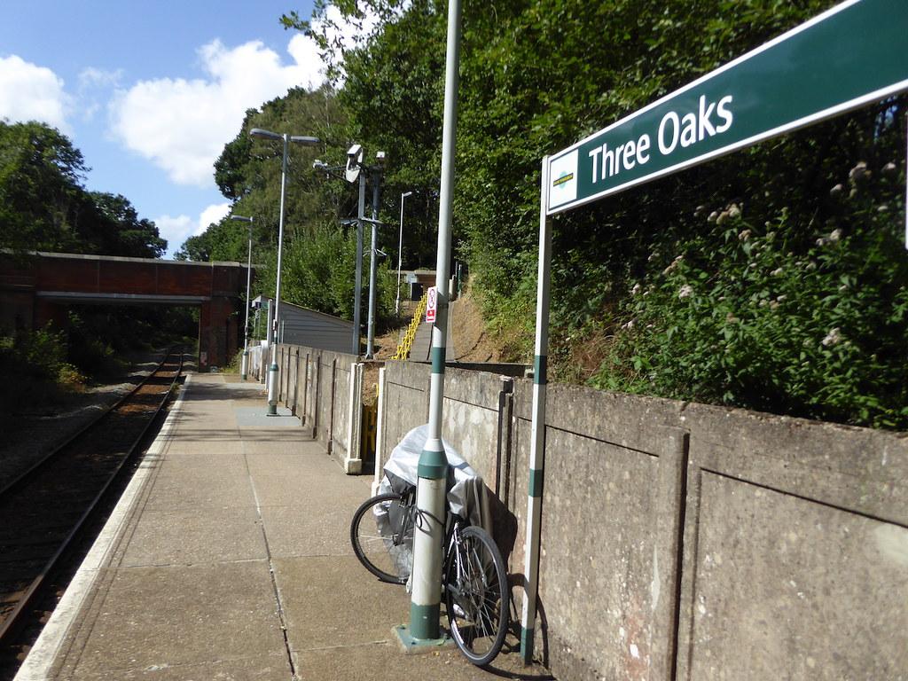 Three Oaks station Winchelsea to Hastings via Three Oaks walk