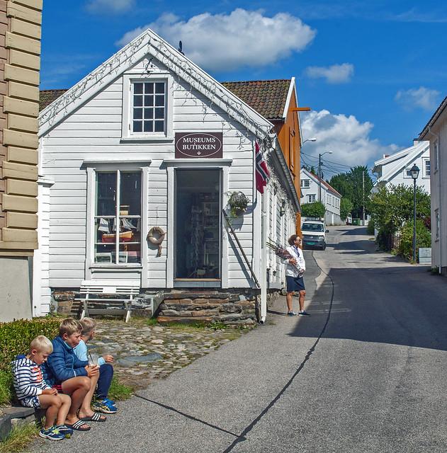 museum shop in Lillesand