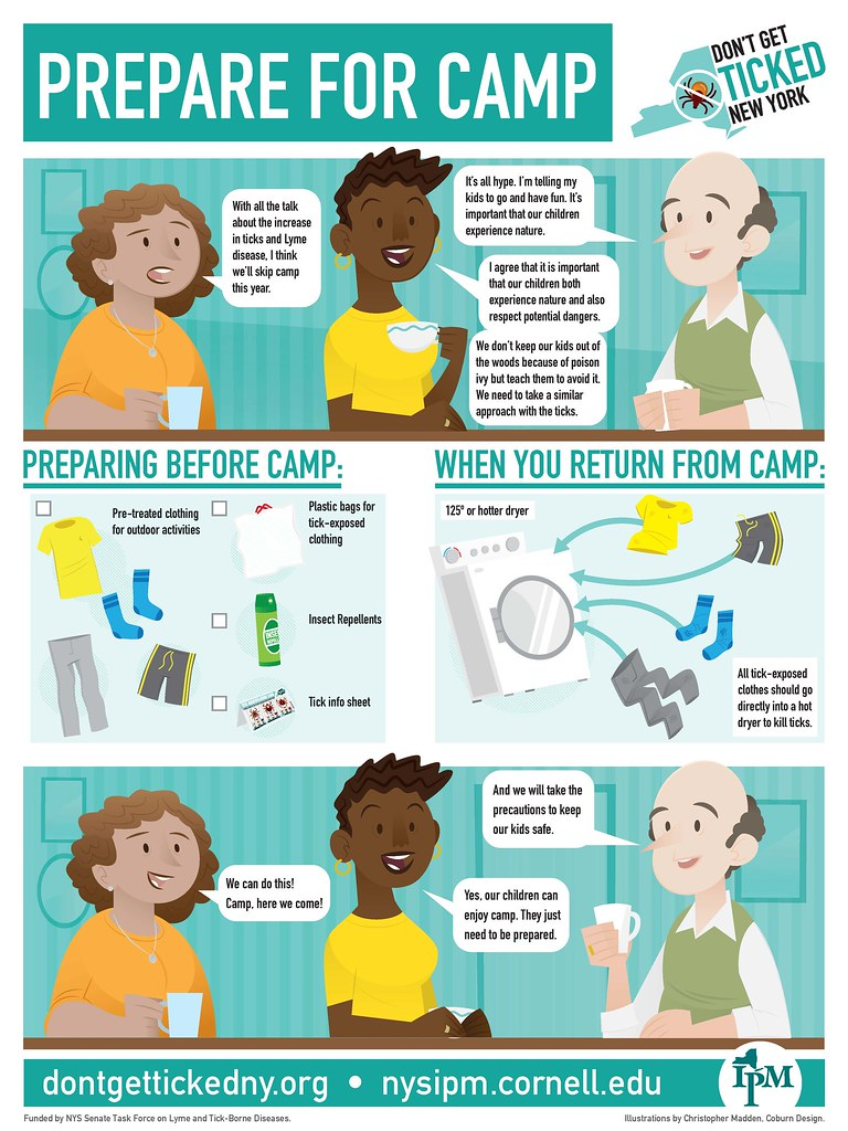 Prepare for Camp and Avoid Ticks | Summer camp does not have