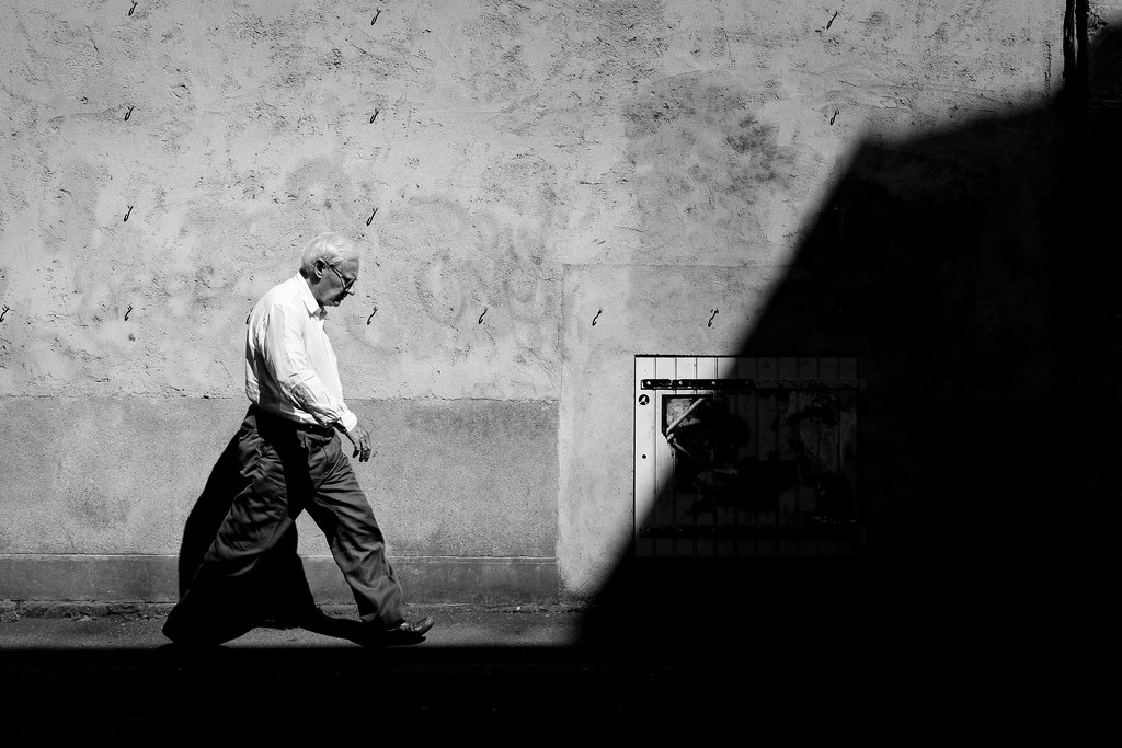 Into the shadows I