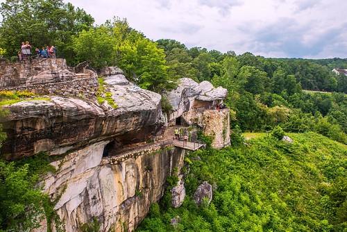 rockcity lookoutmountain georgia mountain scenery stone forest nikond610 afsnikkor2470mmf28ged oliverleverittphotography