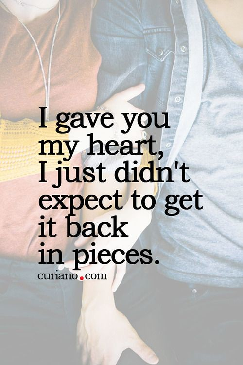 Sad Love Quotes You Gladly Excepted My Heart And Seemed Flickr