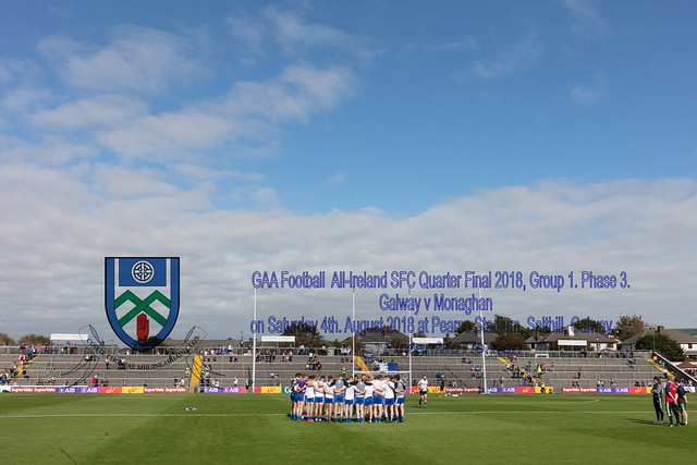 Galway v Monaghan at Pearse Stadium on Saturday 4th. August 2018