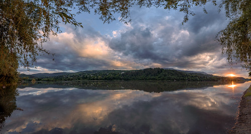 nikon d750 nikond750 landscape panorama irix 15mm irix15mm clouds water sunset lights trees dam bulgaria pancharevo mountain breathtakinglandscapes