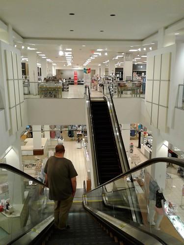 merrittsquaremall mall merrittisland brevardcounty florida sears jcpenney dillards macys retail shoppingcenter departmentstore escalator