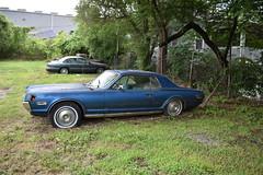Trashed Mercury Cougar 2