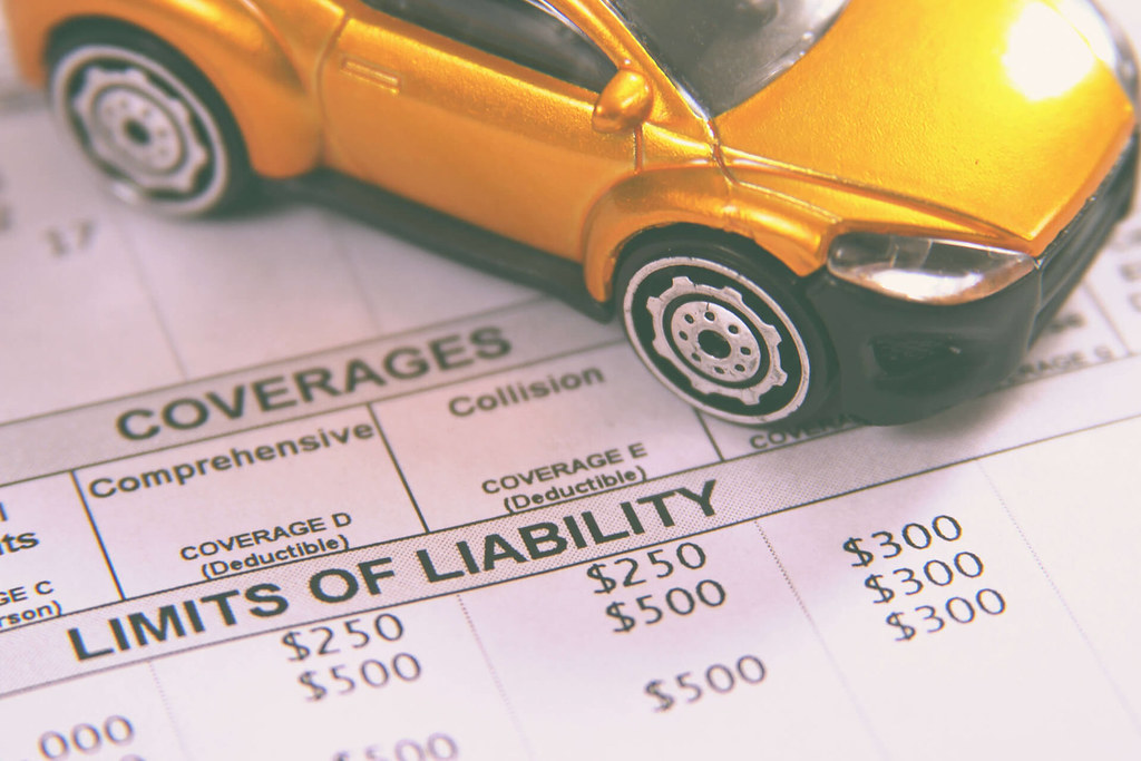 Toy car on car insurance policy declarations page | Small ye… | Flickr