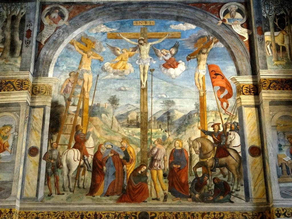Museo Santa Giulia Brescia.Brescia Museo Santa Giulia The Nuns Choir Fresco Of T Flickr