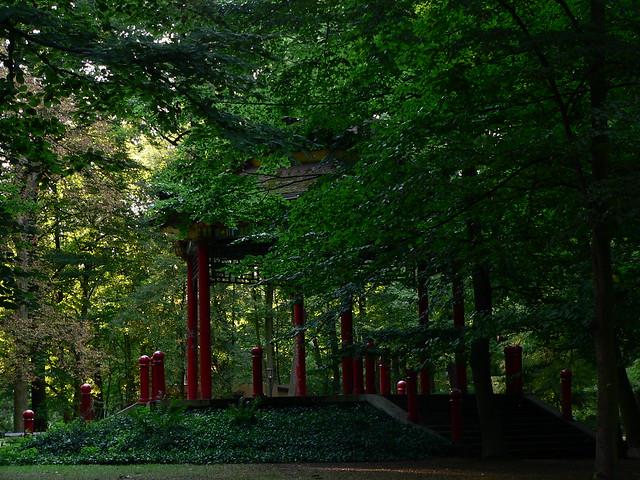 Chinese Style Pavilion 1 中国風のパヴィリオン