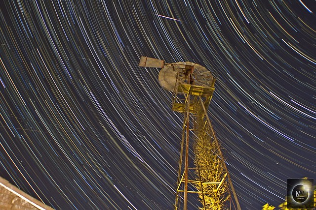 1 Hour 20 Minute Star Trails 04/08/18