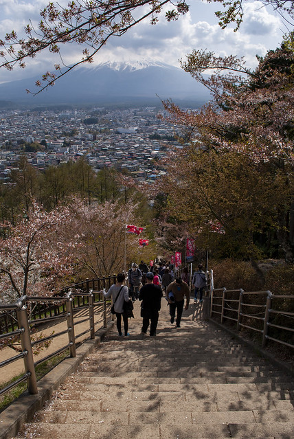 忠霊塔パゴダ、下吉田、日本 – Chureito Pagoda, Shimoyoshida, Japan