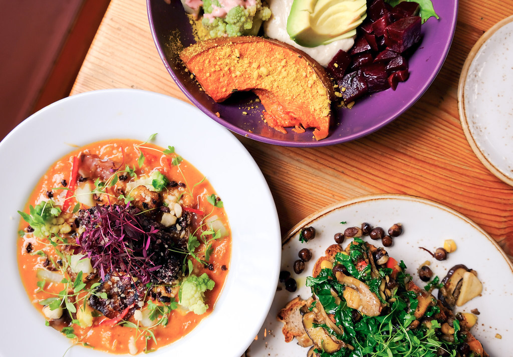 Plant-Based Dishes, Raw Food